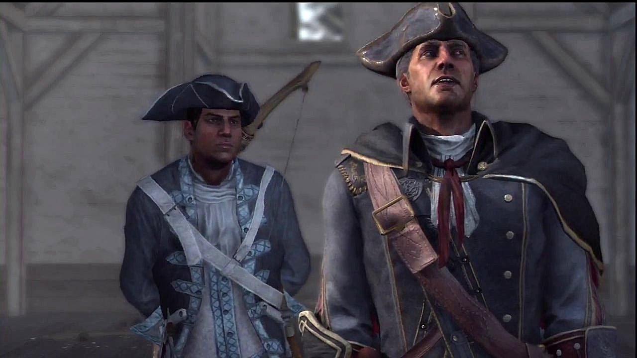 Assassin S Creed Iii Haytham Kenway Connor Meet Cutscene Ben