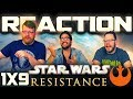 "Star Wars Resistance 1x9 REACTION!! ""Secrets and Holograms"""