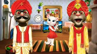 Baap or beta part 3//new comedian video by talking tom