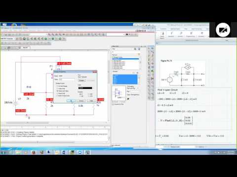 Controlled Sources In Cadence Orcad Spice For Dc Circuit