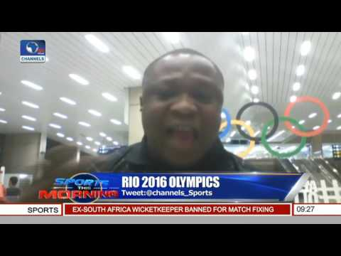 Channelstv Sports Correspondent Gives Update On Team Nigeria, Quadri's Preparation