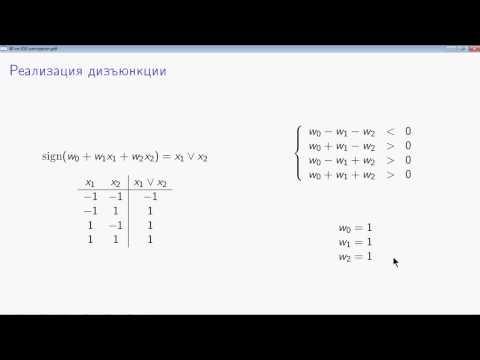 AIML-4-1-2 Персептрон и булевы функции
