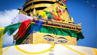 Swayambhu Stupa Nepal     Swayambhunath Stupa