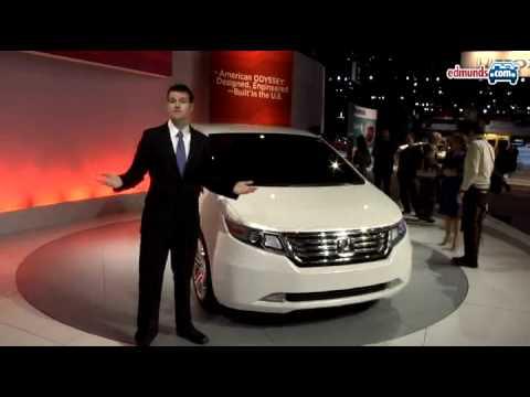 Honda Odyssey Concept 2010 Chicago Auto Show Youtube