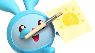 Развивающие мультики для малышей - Сборник мультфильмов Малышарики - Сказочка, Рыбалка