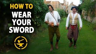How to wear YΟUR sword