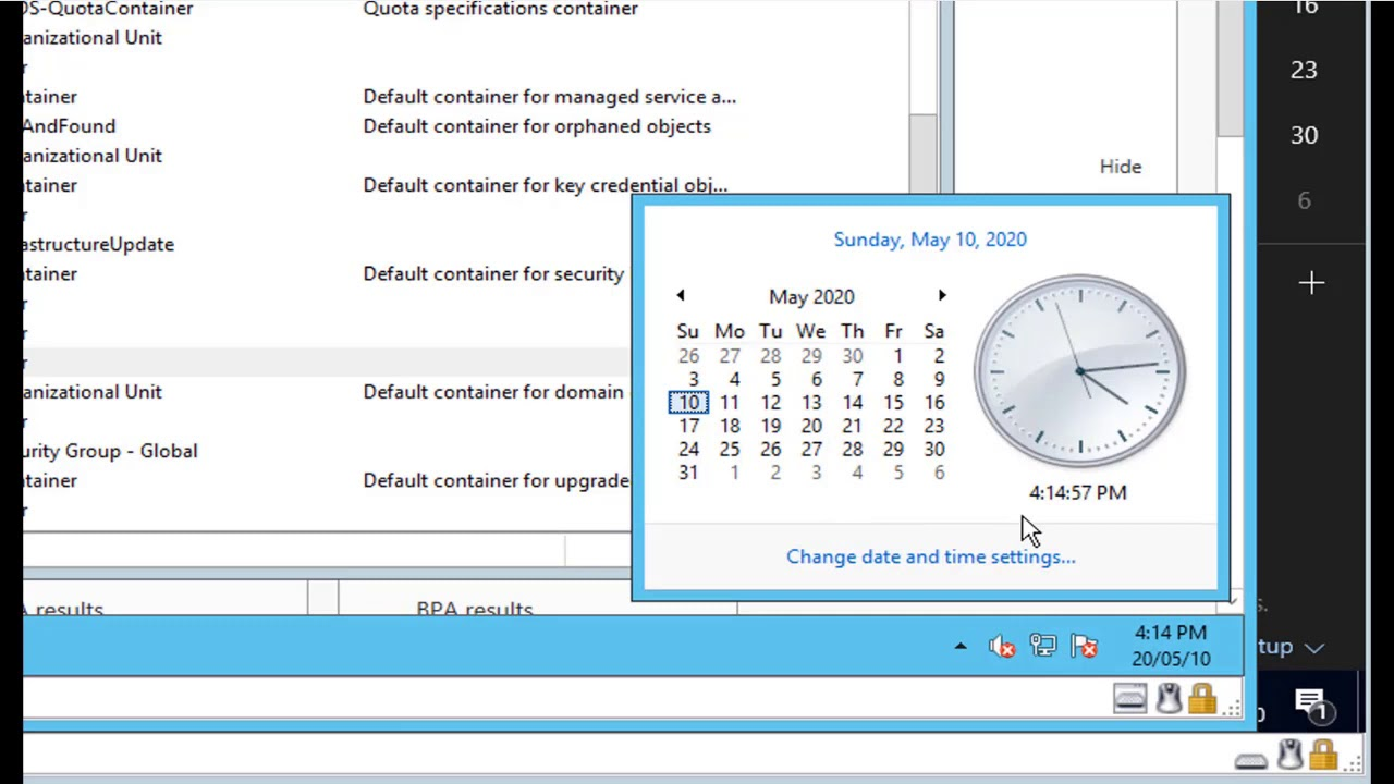 Use Net Time command to fix Domain member time sync issue