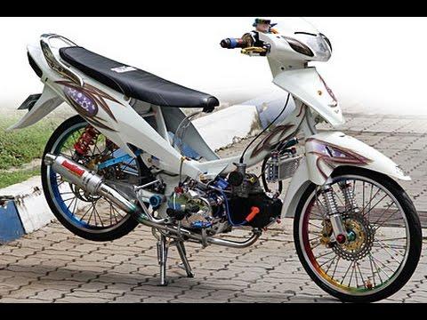 Motor Trend Modifikasi | Video Modifikasi Motor Honda Karisma Velg Jari-jari Airbrush Terbaru Part 2