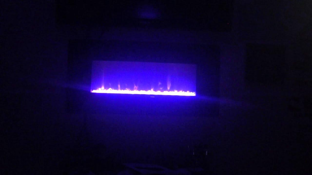 muskoka electric fireplace demo youtube