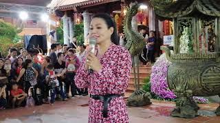 Ngọc Huyền bay từ Mỹ về Việt Nam cúng tổ, hát cực hay tại Đền thờ tổ Hoài Linh  chiều 20/9/2018
