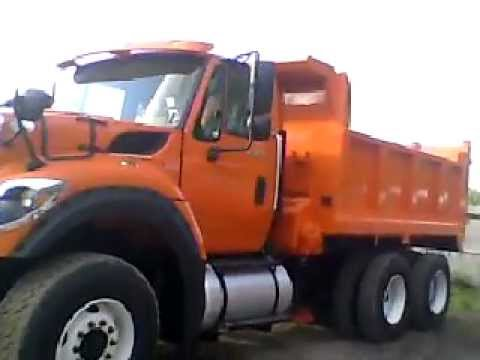 International Orange Truck