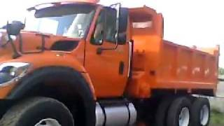 2011 International WorkStar MaxxForce Diesel Dump Truck Walkaround & Review