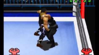 Hulk Hogan vs Sting - WCW vs The World (PS1)