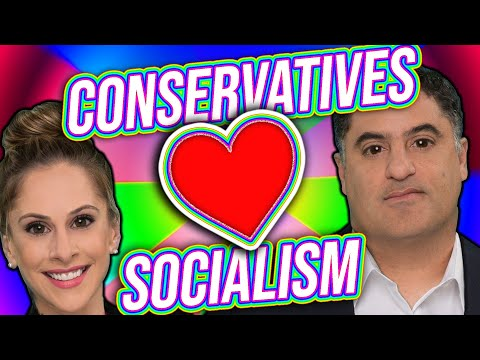 TYT Cenk Uygur and Ana Kasparian: Conservatives Love Socialism...AND IT'S TRUE!!
