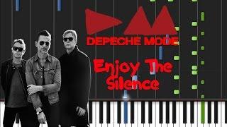 Depeche Mode - Enjoy The Silence [Piano Cover Tutorial] (♫)