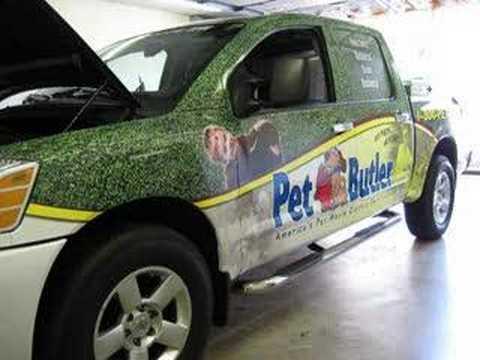 Pet Butler Truck Wrap Dayton, OH