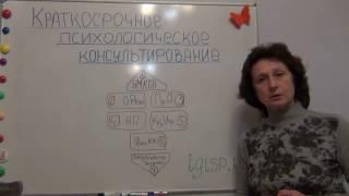 Краткосрочное психологическое консультирование: обучающая программа