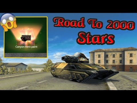 Tanki Online - Road to 2000 Stars #1 | Silver Bricks Paint Preview! + OPENING CONTAINERS!