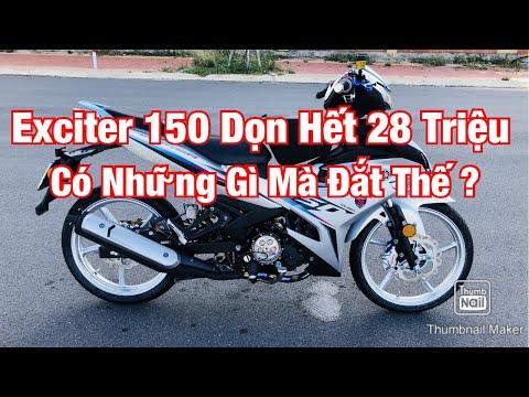 Exciter 150 Đời 2019 Với Bản Độ Full Option Đồ Chơi Racing Boy Hơn 20 Triệu Của 1 Bike Phú Yên