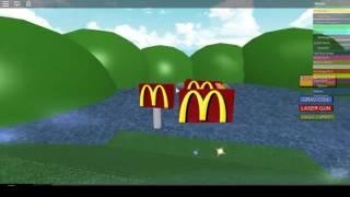 ROBLOX - Escape McDonalds Obby - FREAKIN BOSS!!!