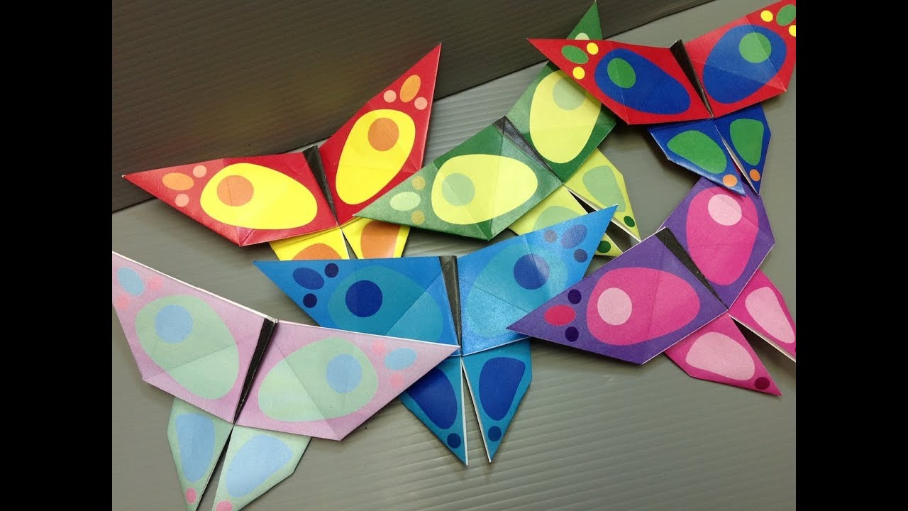 Free Origami Butterfly Paper - Print Your Own ... - photo#49
