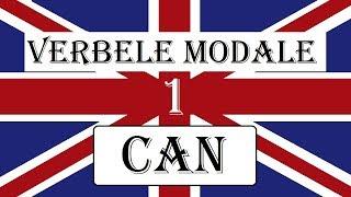 Invata engleza   GRAMATICA   Verbele modale - CAN