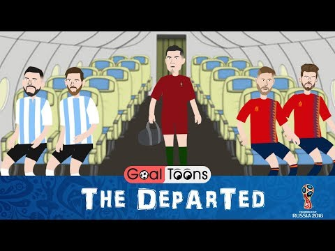 The Departed | Messi & Ronaldo