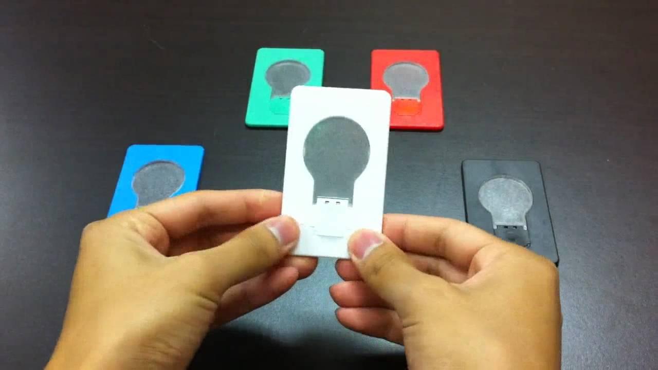 Led Pocket Light Credit Card Bulb