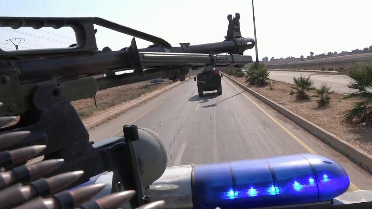 В Сирии курдские отряды самообороны покидают пограничные посты на сирийско-турецкой границе.