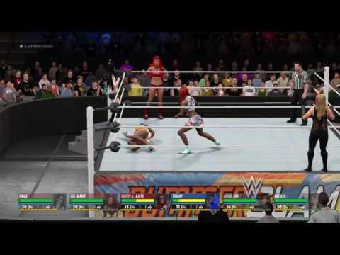 Novon Live PS4 Broadcast WWE Divas Dream Match