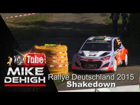 WRC Rally Germany Deutschland 2015 Shakedown Best of HD Pure Sound