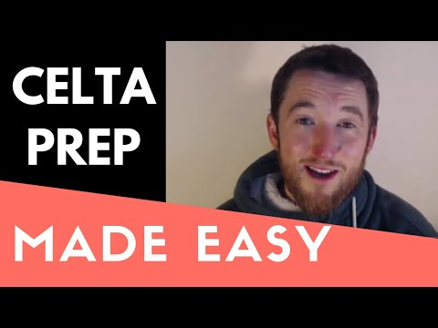 CELTA Preparation Made Simple - Everything YOU Need To Know