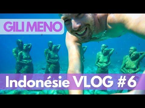 GILI MENO, une île zen et sereine près de Bali et Lombok