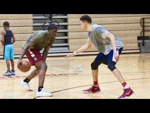 Dwayne Bacon vs Kevin Knox! NBA Prospect & Kentucky Freshman Put Work In at Coach Barsh Academy