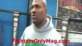 Rampage Jackson talks Rashad, Shogun, new UFC deal (pt 1)