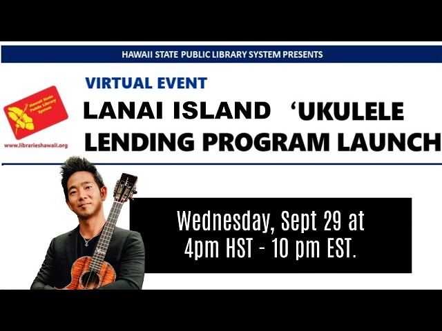 Library Ukulele Library Launch Event