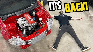 homepage tile video photo for RWD Honda Civic gets a NEW ENGINE! (6th times a charm!)