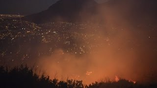 Fires continue to blaze in Cape Town
