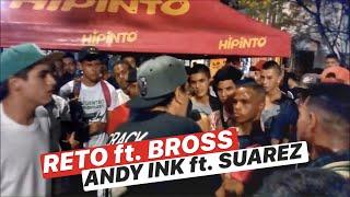 [BATALLON] FINAL || BROSS ft. RETO VS ANDY INK ft. SUAREZ || FREESTYLE BUCARAMANGA || SKILLS MIC™