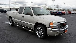 2004 GMC Sierra 1500 SLE Extended Cab For Sale Dayton Troy Piqua Sidney Ohio | 27445DT