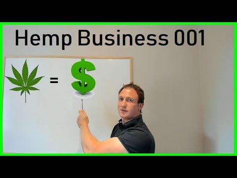NEW Hemp Business - Insane Opportunity To Make Money!