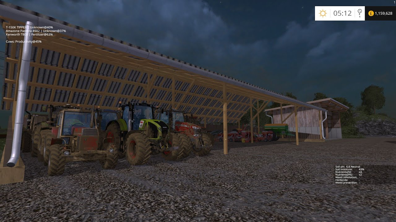 Lets Play Farming Simulator Hagenstedt Map Ep Sowing - Farming simulator 2015 us map feed cows