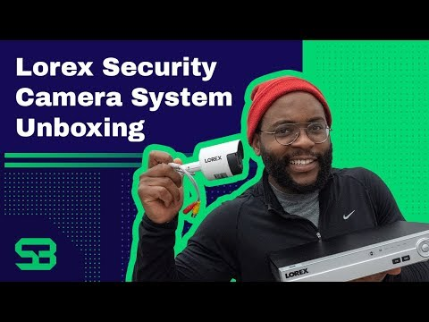 Lorex Security Camera System Unboxing