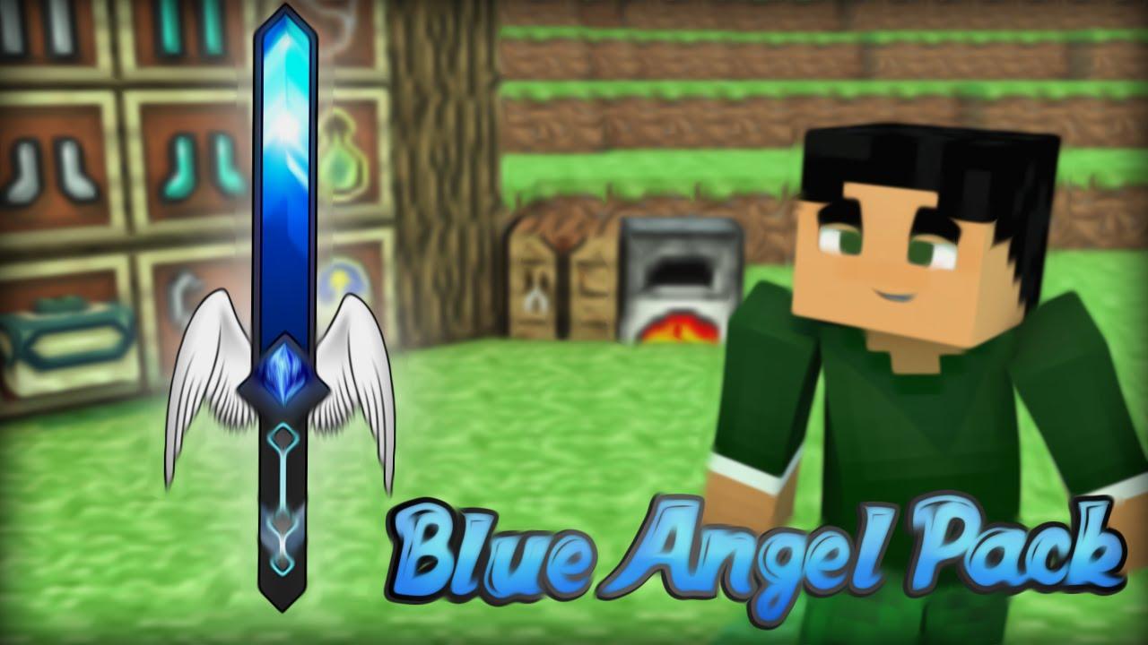 Blue Angel Pack 1.7.x 1.8.x - Texturas #1 - YouTube