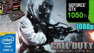 Call of Duty  Black Ops 2 GTX 1050TI 4GB | multiplayer |  Max settings | 1080p