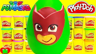 PJ Masks Owlette Play Doh Surprise Egg Paw Patrol, Shopkins and More