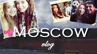 Vlog: Москва ♥ Встреча с Соня Есьман ♥ Дмитрий Шаракоис (Левин Интерны)