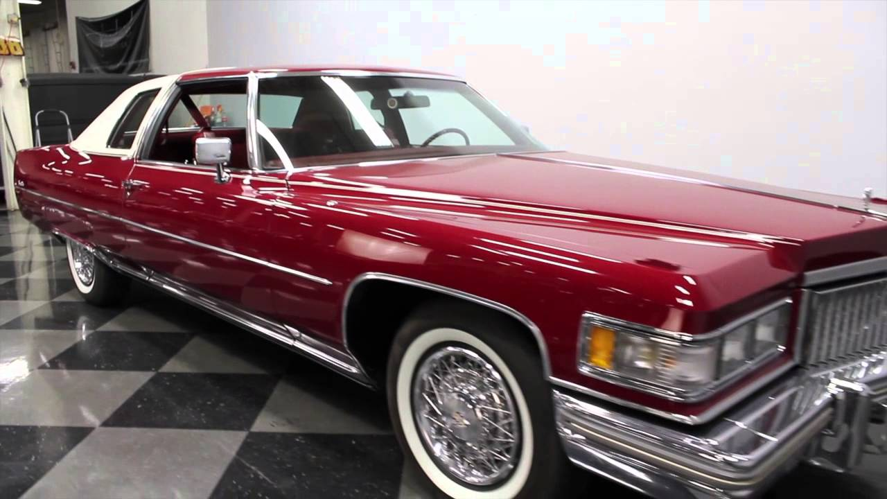 2574 CHA 1975 Cadillac Coupe DeVille - YouTube