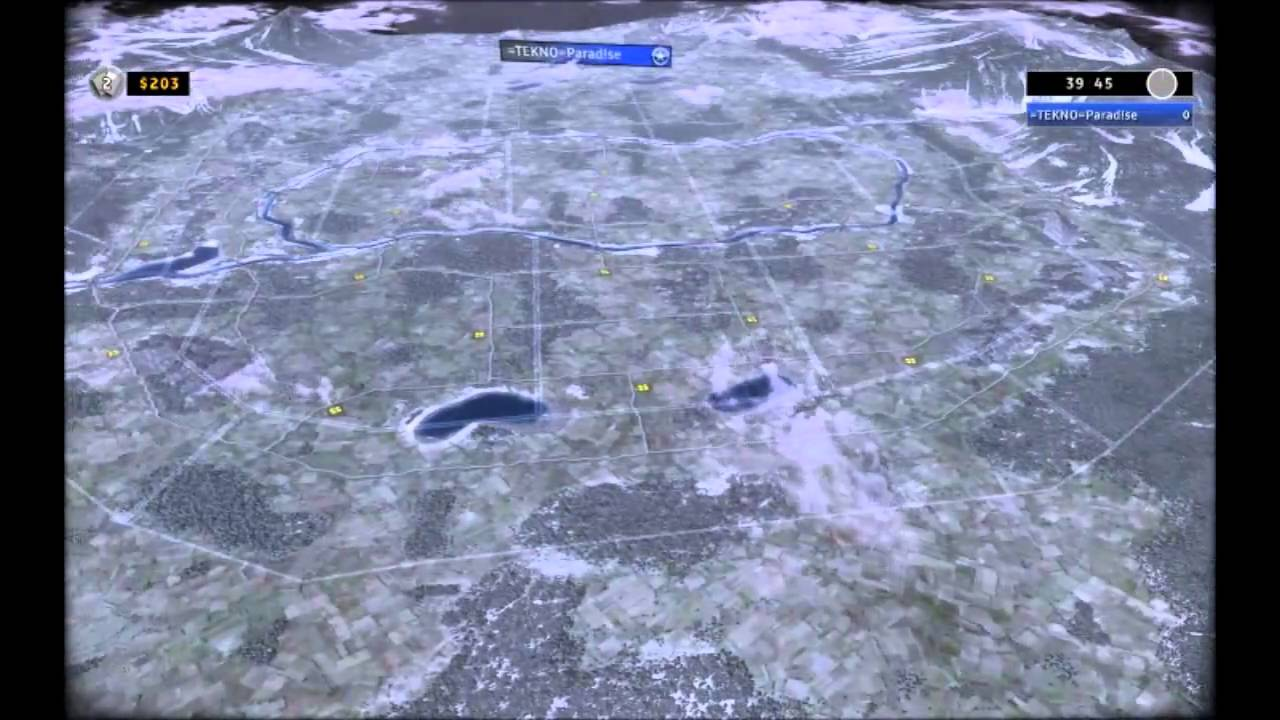 RUSE New map Nuclear Winter Review YouTube
