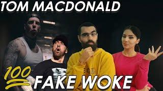 EMINEM DISS OR NAH?!   Tom MacDonald - Fake Woke (Official video REACTION in Arabic/English!!)